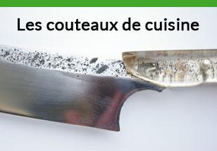 les couteaux de cuisine